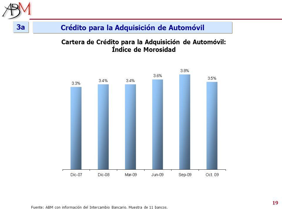3a Crédito para la Adquisición de Automóvil