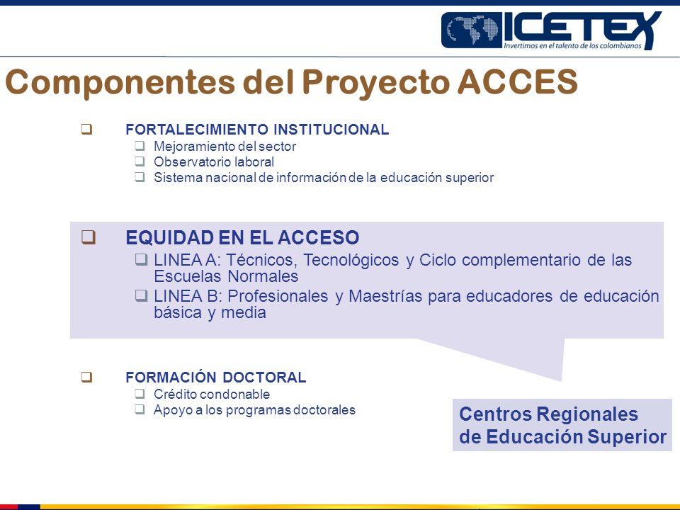 Componentes del Proyecto ACCES