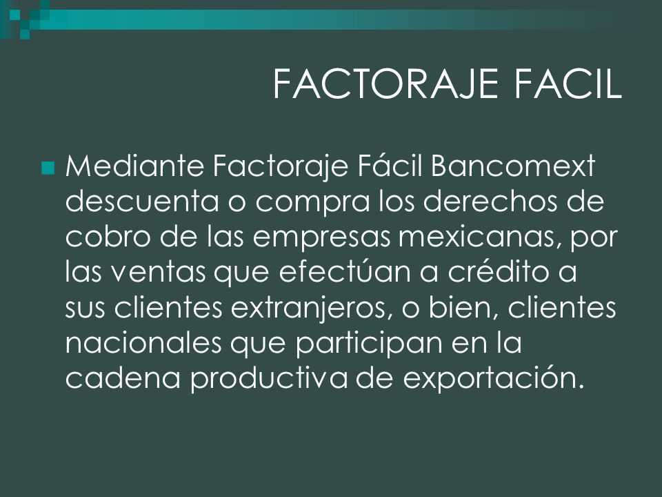 FACTORAJE FACIL