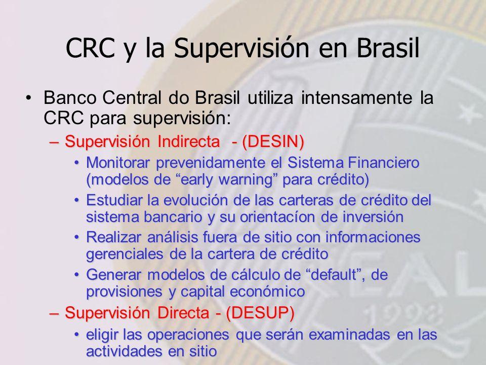 CRC y la Supervisión en Brasil