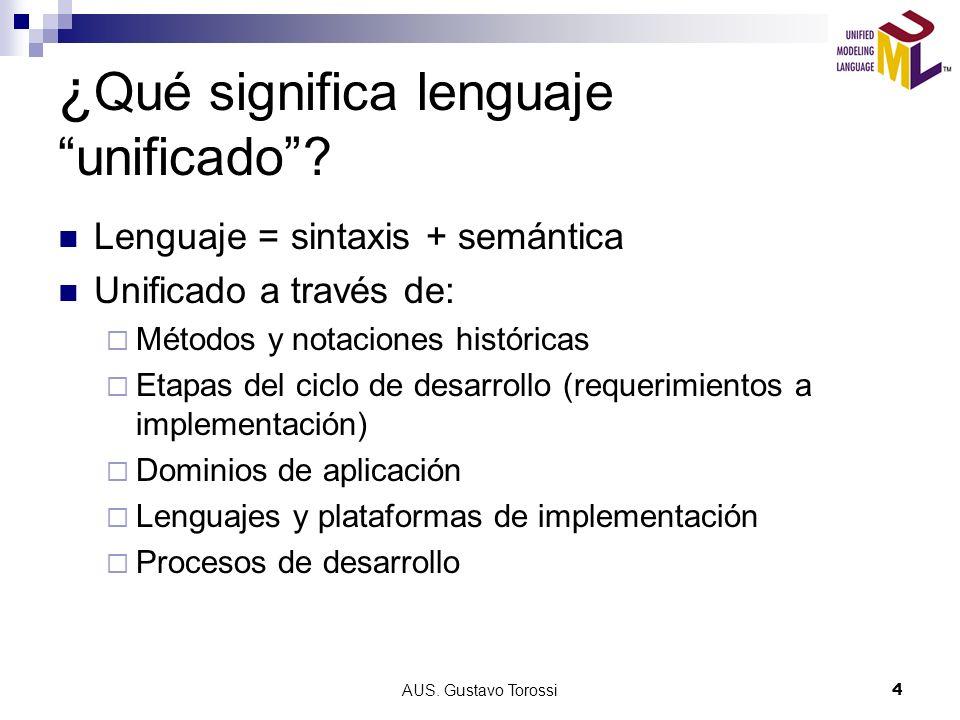 ¿Qué significa lenguaje unificado