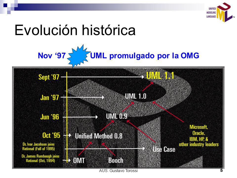 UML promulgado por la OMG