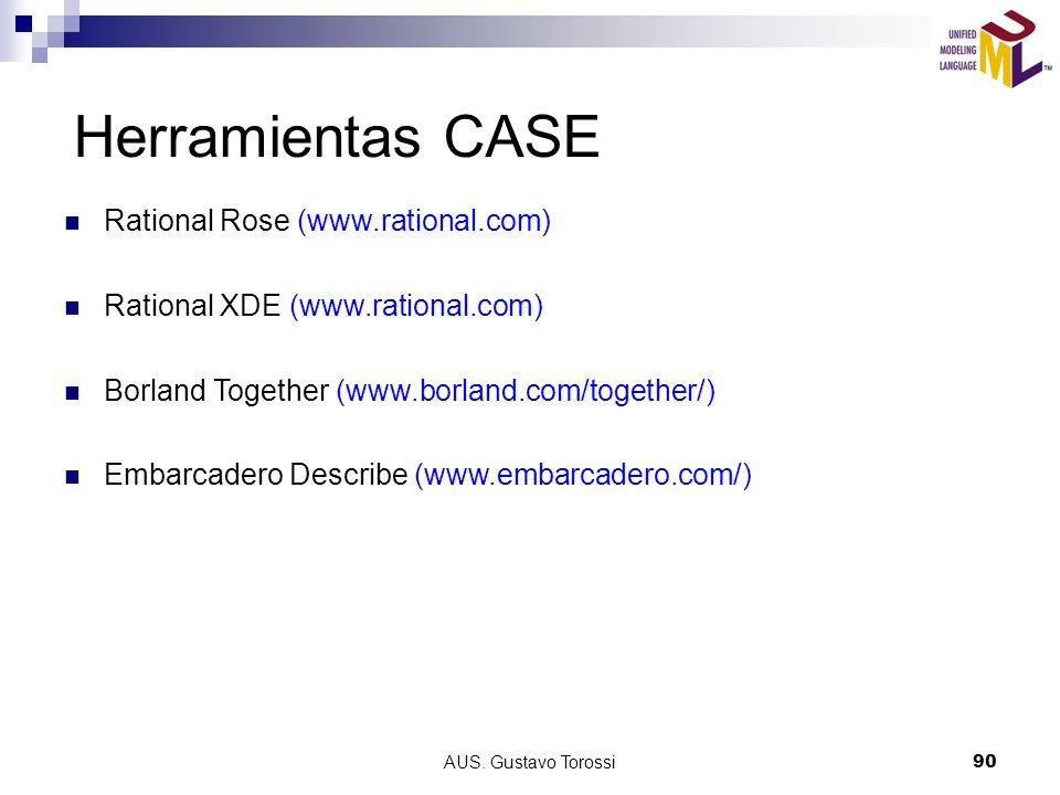 Herramientas CASE Rational Rose (www.rational.com)