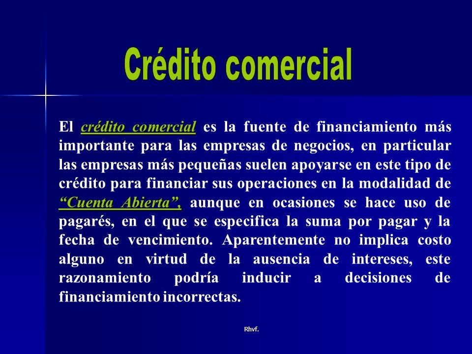 Crédito comercial
