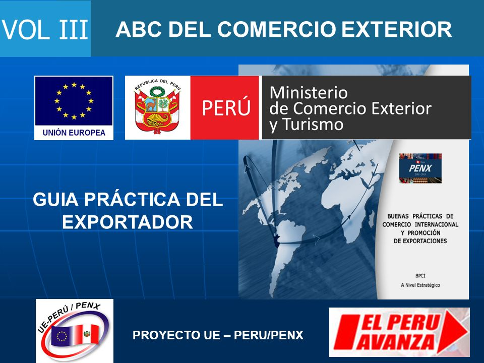 VOL III ABC DEL COMERCIO EXTERIOR GUIA PRÁCTICA DEL EXPORTADOR