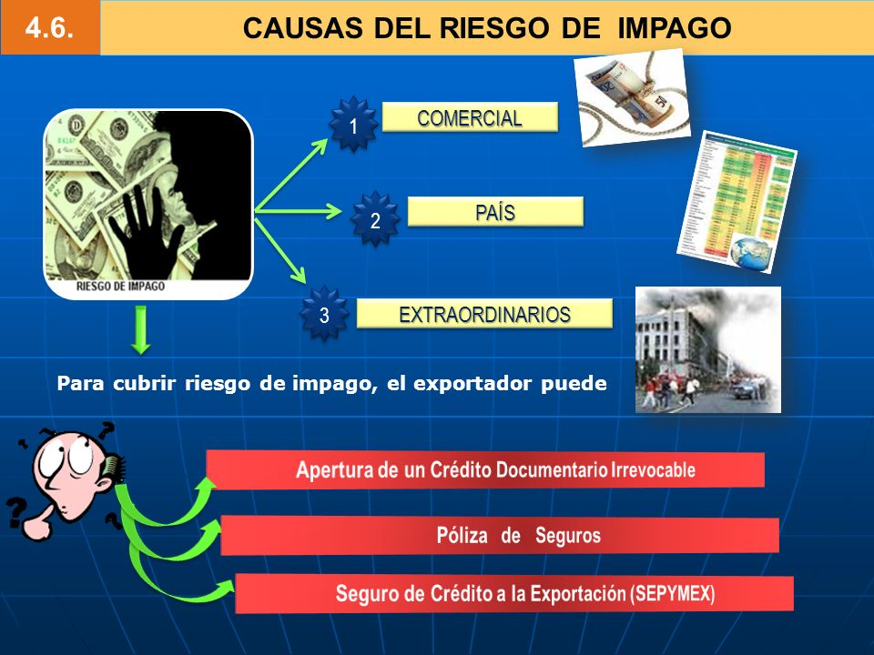 4.6. CAUSAS DEL RIESGO DE IMPAGO