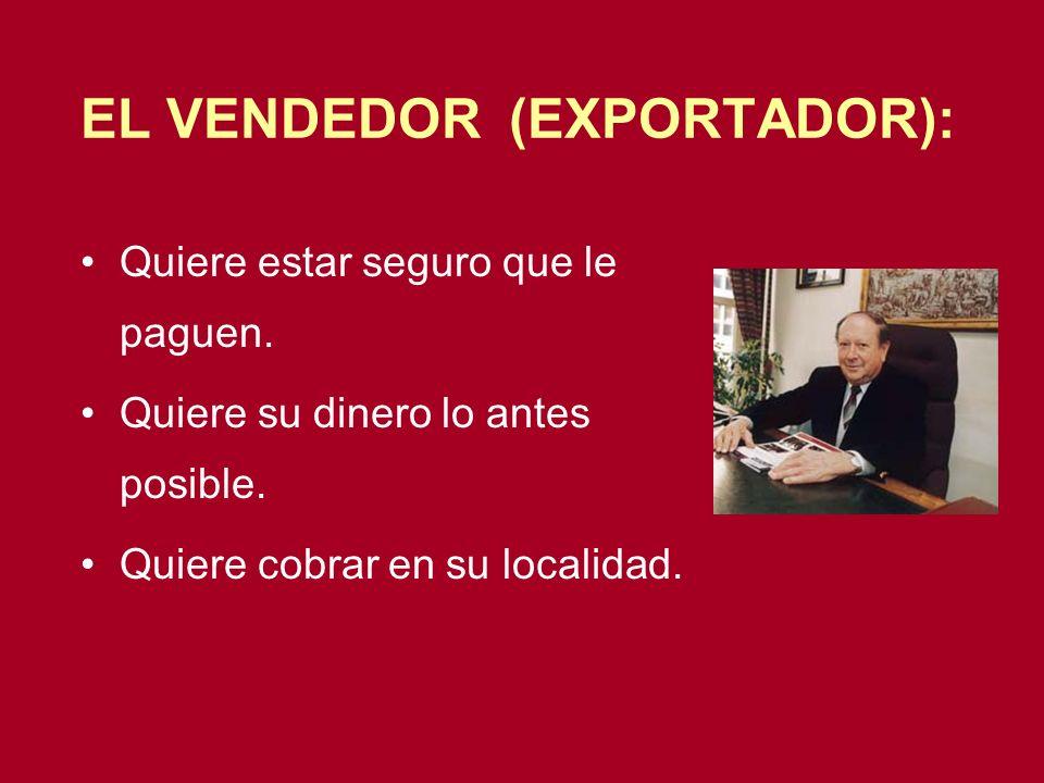 EL VENDEDOR (EXPORTADOR):
