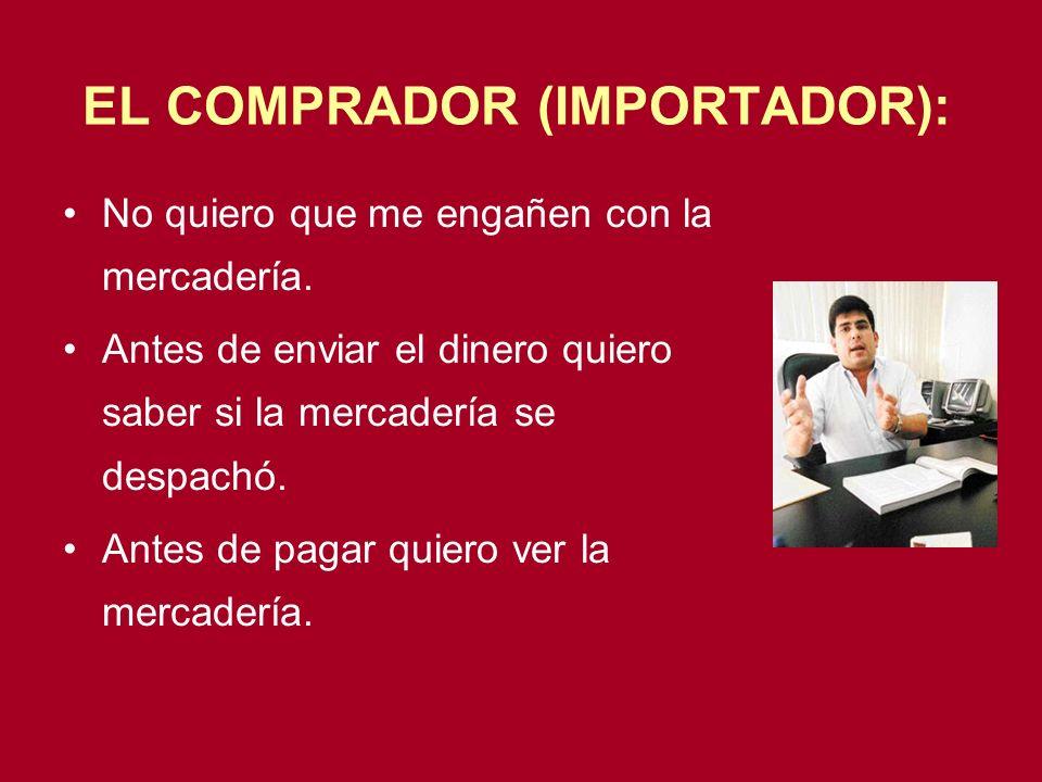 EL COMPRADOR (IMPORTADOR):