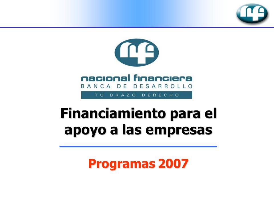 Financiamiento para el apoyo a las empresas