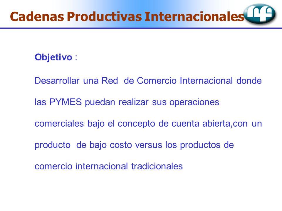Cadenas Productivas Internacionales