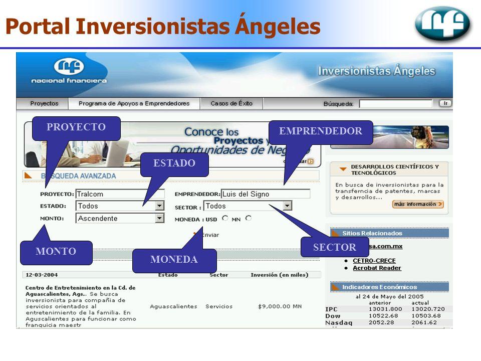 Portal Inversionistas Ángeles