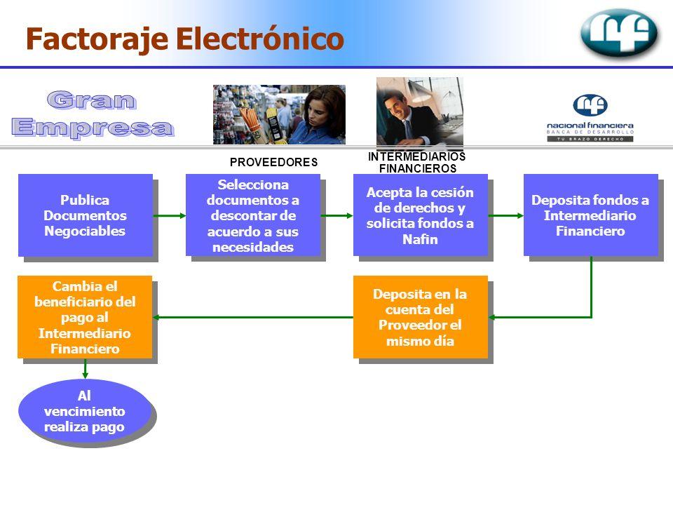 Gran Empresa Factoraje Electrónico Publica Documentos Negociables