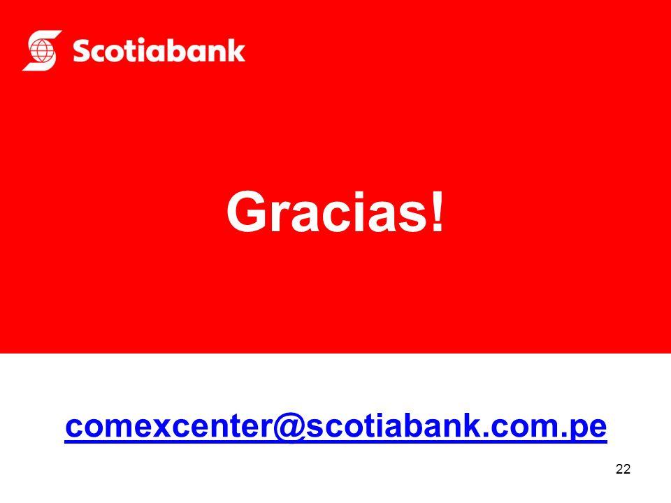 Gracias! comexcenter@scotiabank.com.pe