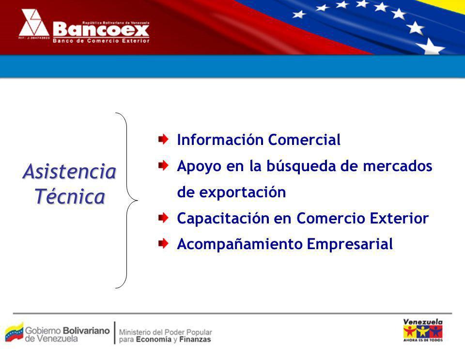 Asistencia Técnica Información Comercial