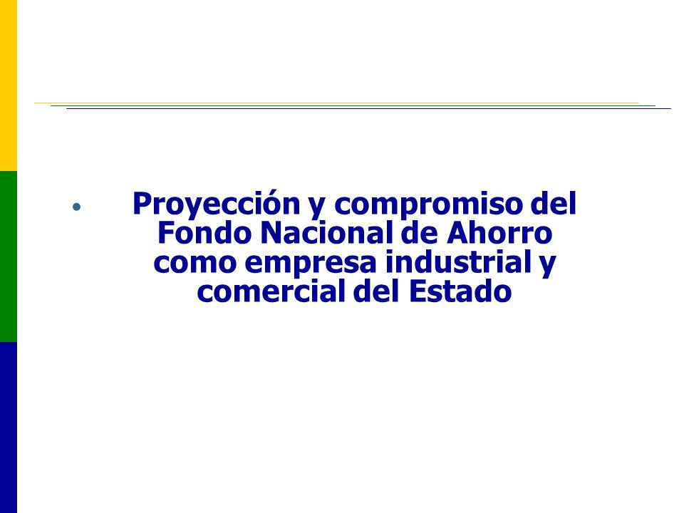 Proyección y compromiso del Fondo Nacional de Ahorro como empresa industrial y comercial del Estado