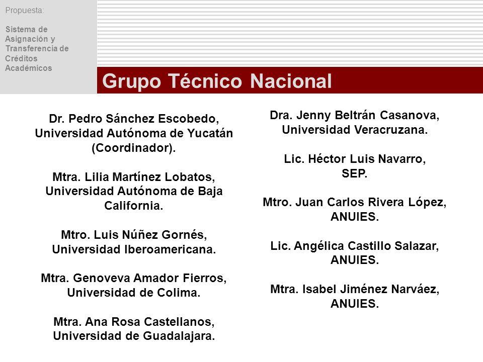 Grupo Técnico Nacional
