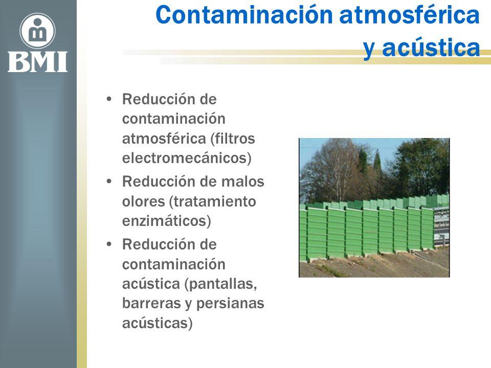 Contaminación atmosférica y acústica