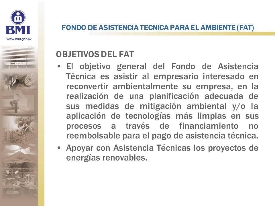 FONDO DE ASISTENCIA TECNICA PARA EL AMBIENTE (FAT)