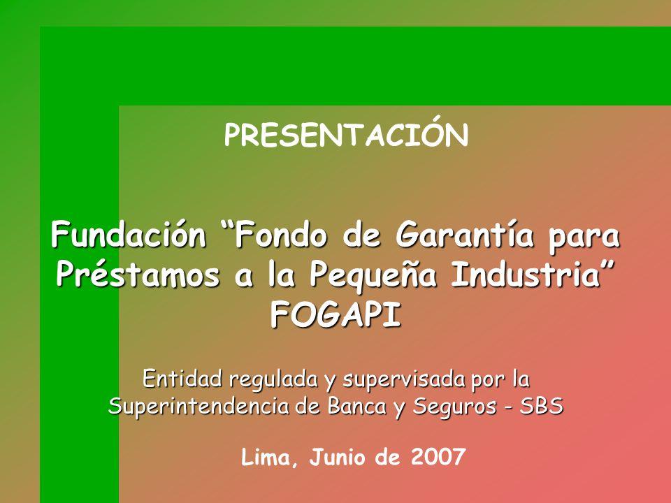 Fundación Fondo de Garantía para Préstamos a la Pequeña Industria