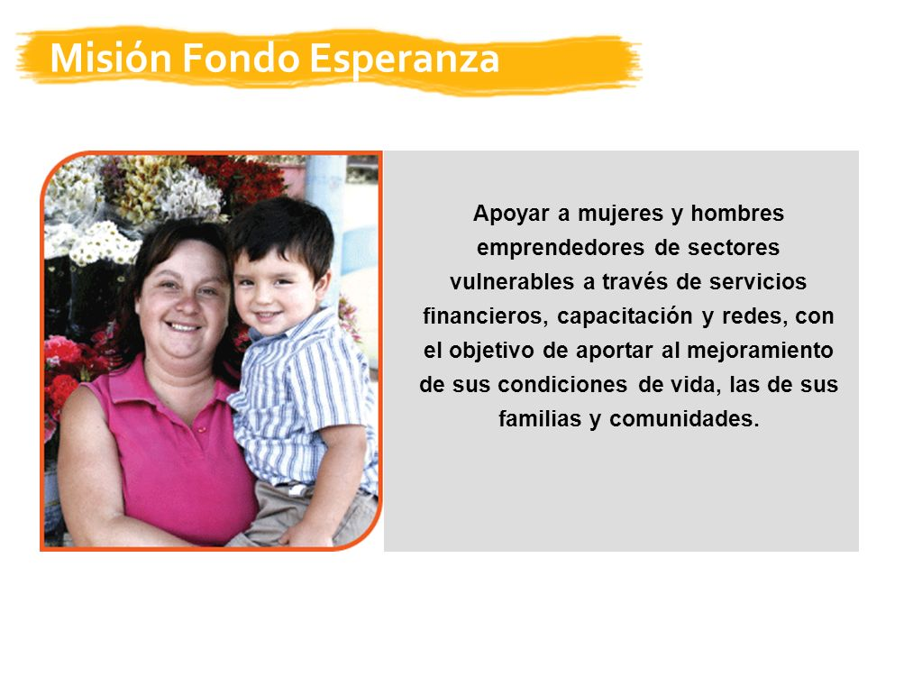 Misión Fondo Esperanza