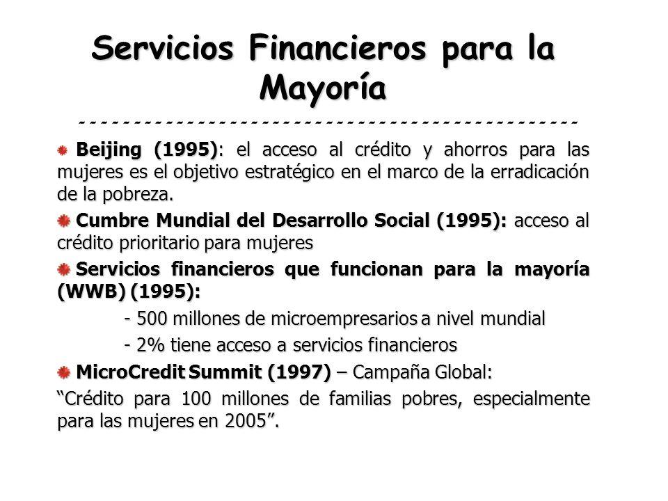 Servicios Financieros para la Mayoría