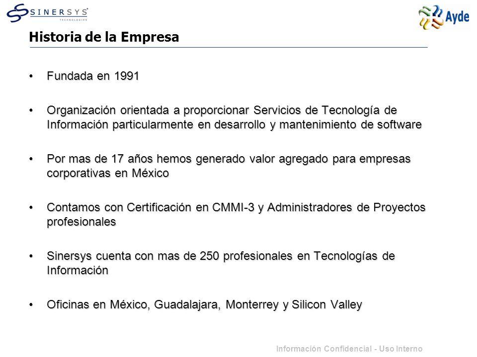 Historia de la Empresa Fundada en 1991