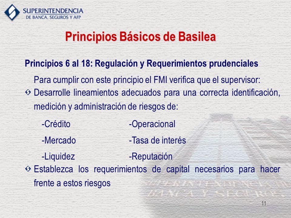 Principios Básicos de Basilea