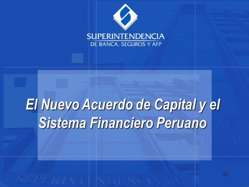El Nuevo Acuerdo de Capital y el Sistema Financiero Peruano