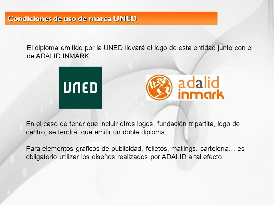 Condiciones de uso de marca UNED