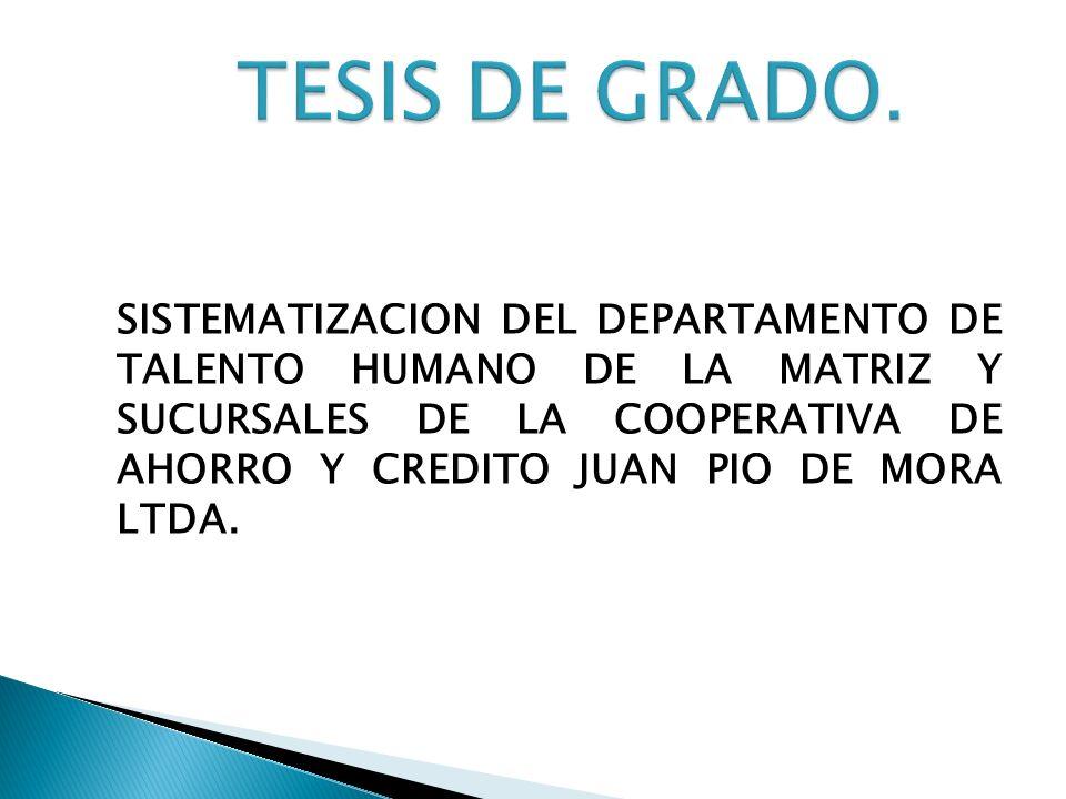 TESIS DE GRADO.