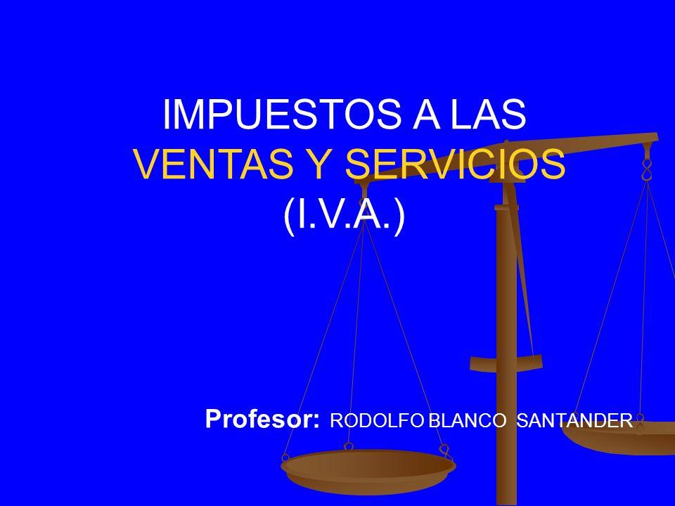 Profesor: RODOLFO BLANCO SANTANDER