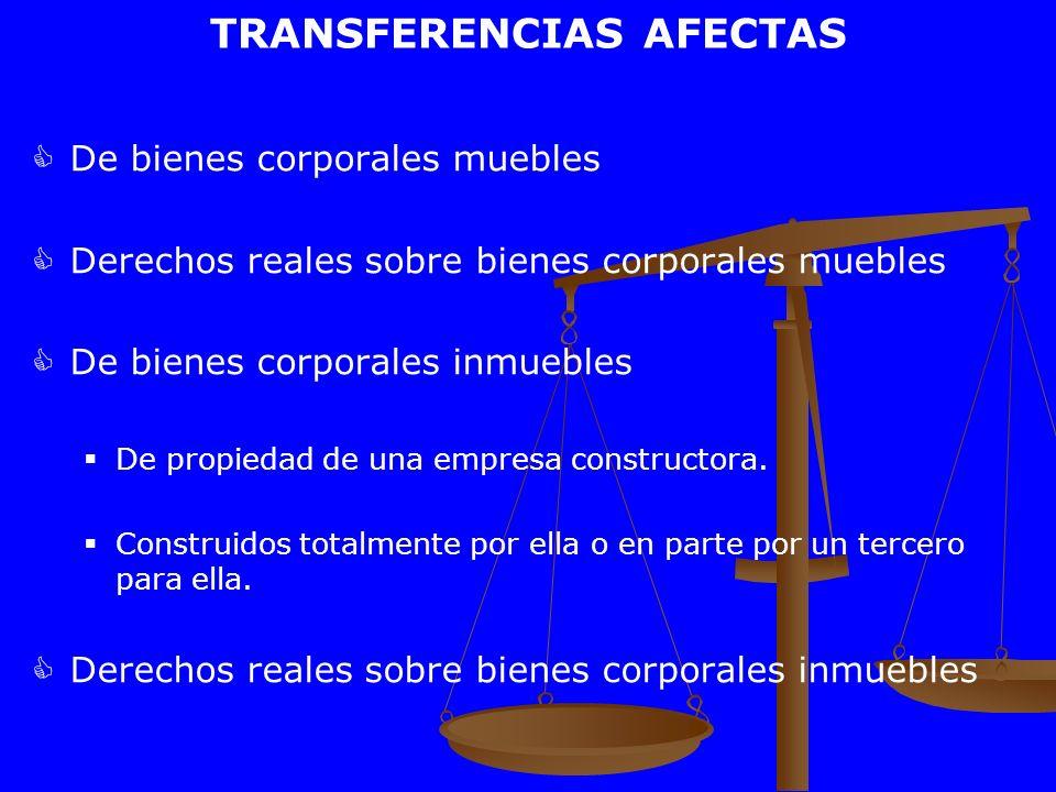 TRANSFERENCIAS AFECTAS
