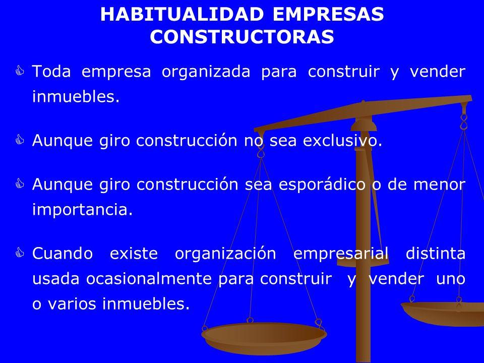 HABITUALIDAD EMPRESAS CONSTRUCTORAS