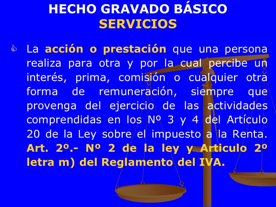 HECHO GRAVADO BÁSICO SERVICIOS