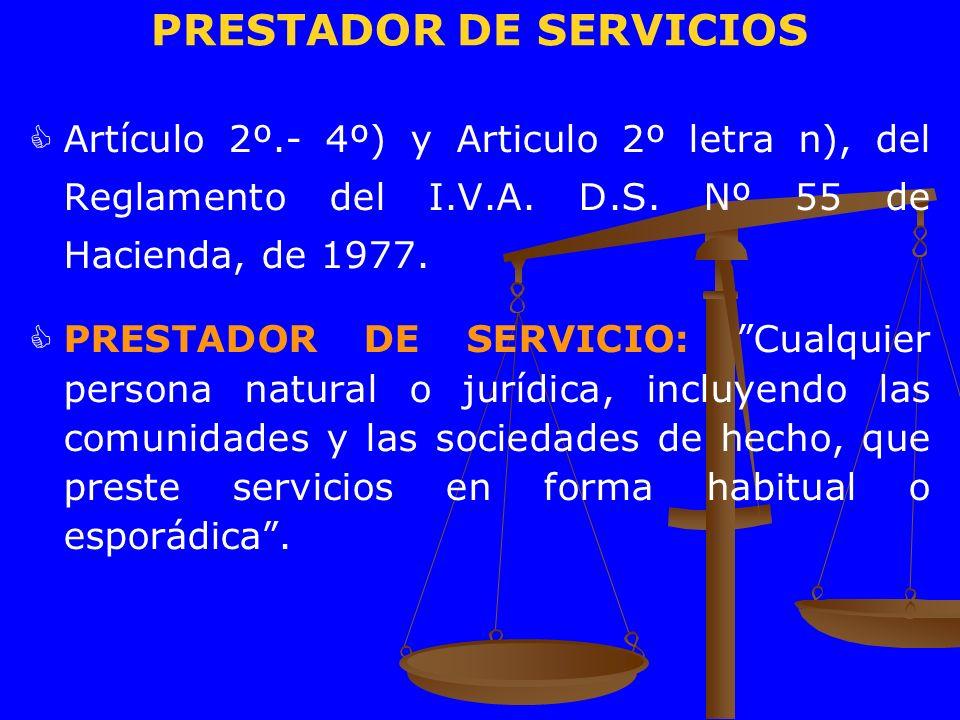 PRESTADOR DE SERVICIOS