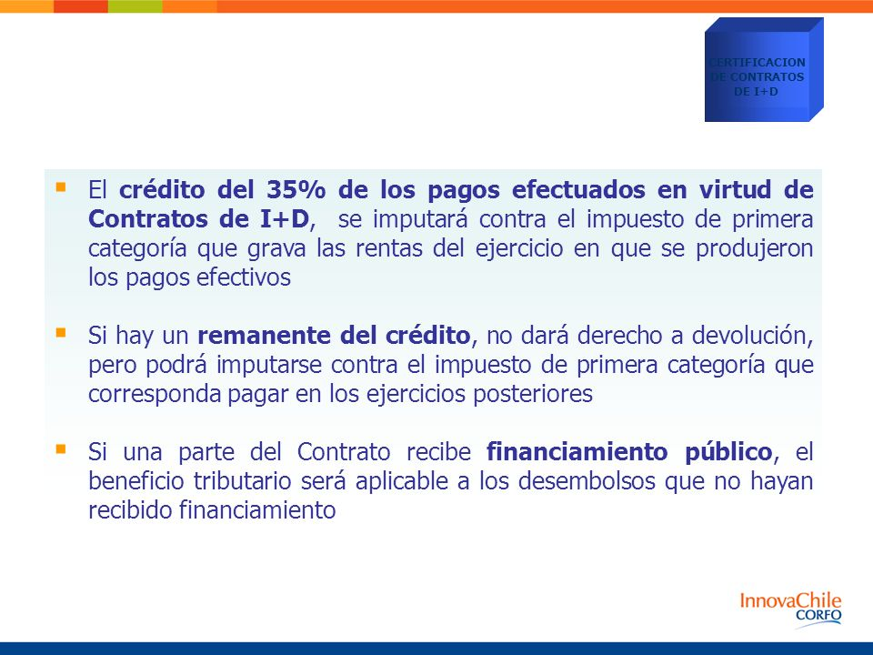 CERTIFICACION DE CONTRATOS. DE I+D.