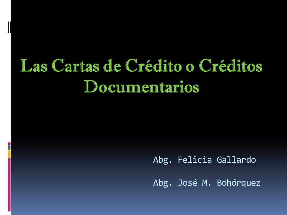 Abg. Felicia Gallardo Abg. José M. Bohórquez