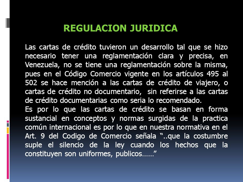 REGULACION JURIDICA