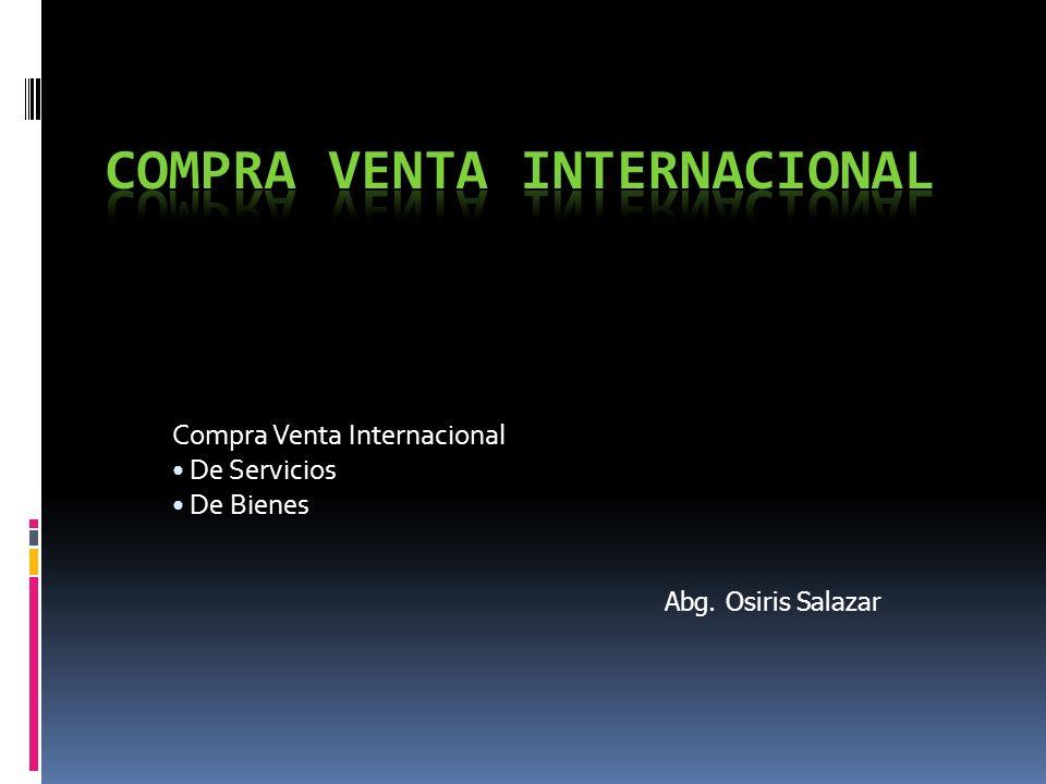 COMPRA VENTA INTERNACIONAL