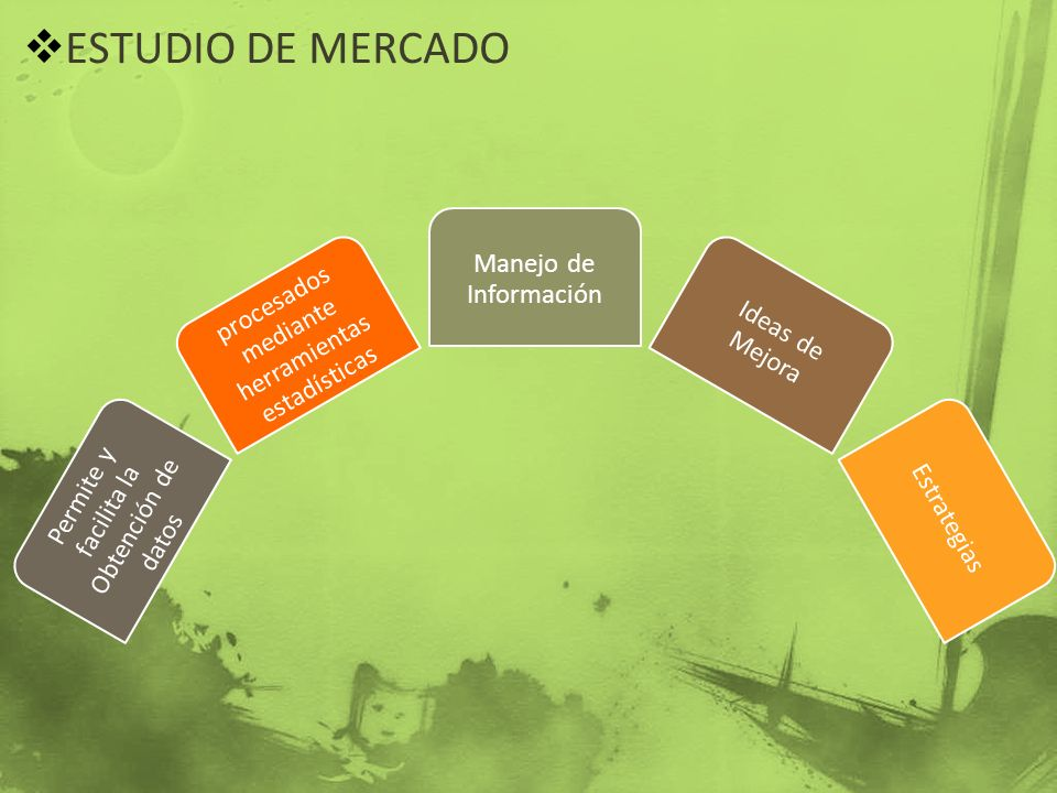 ESTUDIO DE MERCADO Manejo de Información