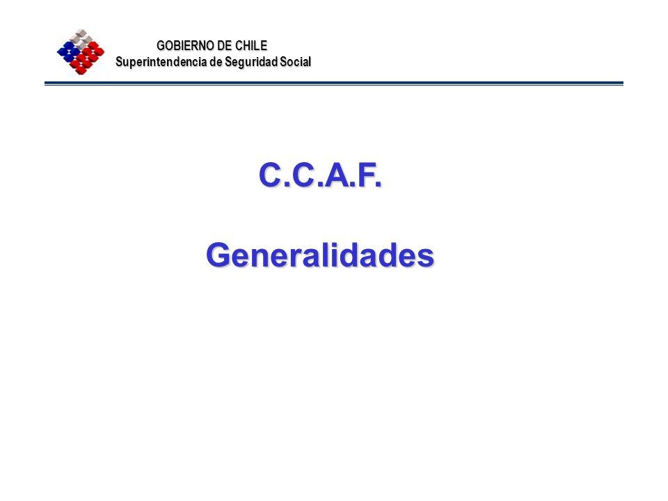 C.C.A.F. Generalidades