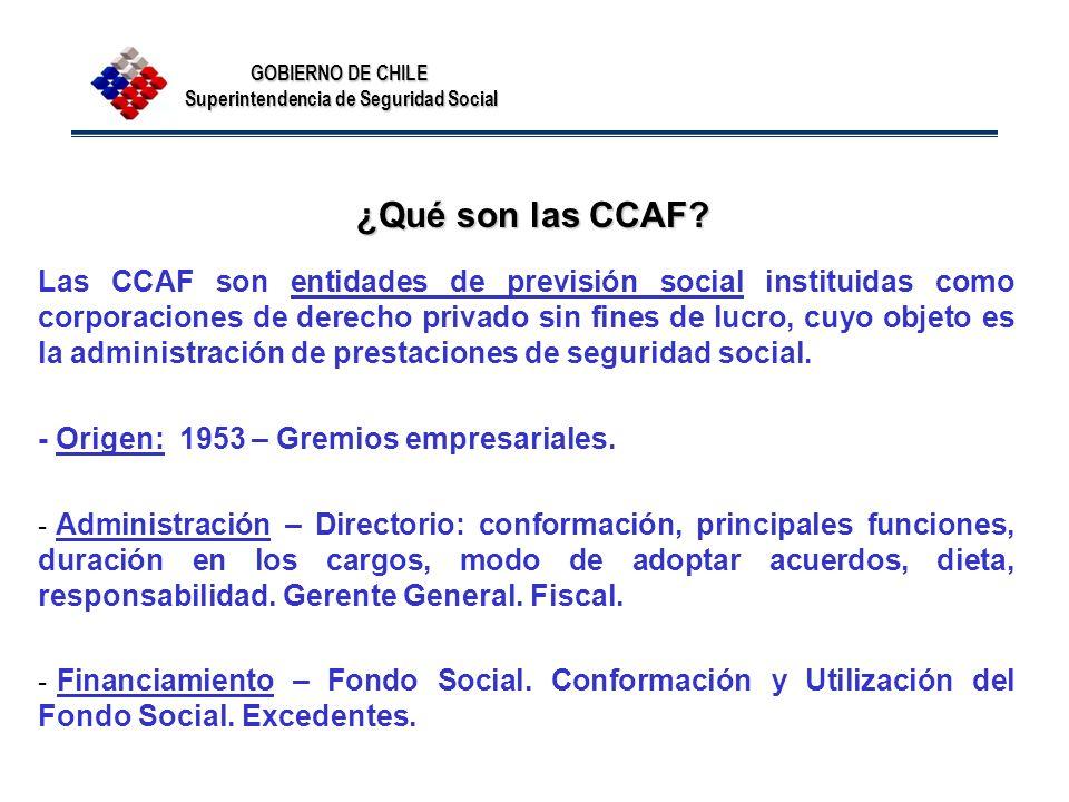 ¿Qué son las CCAF