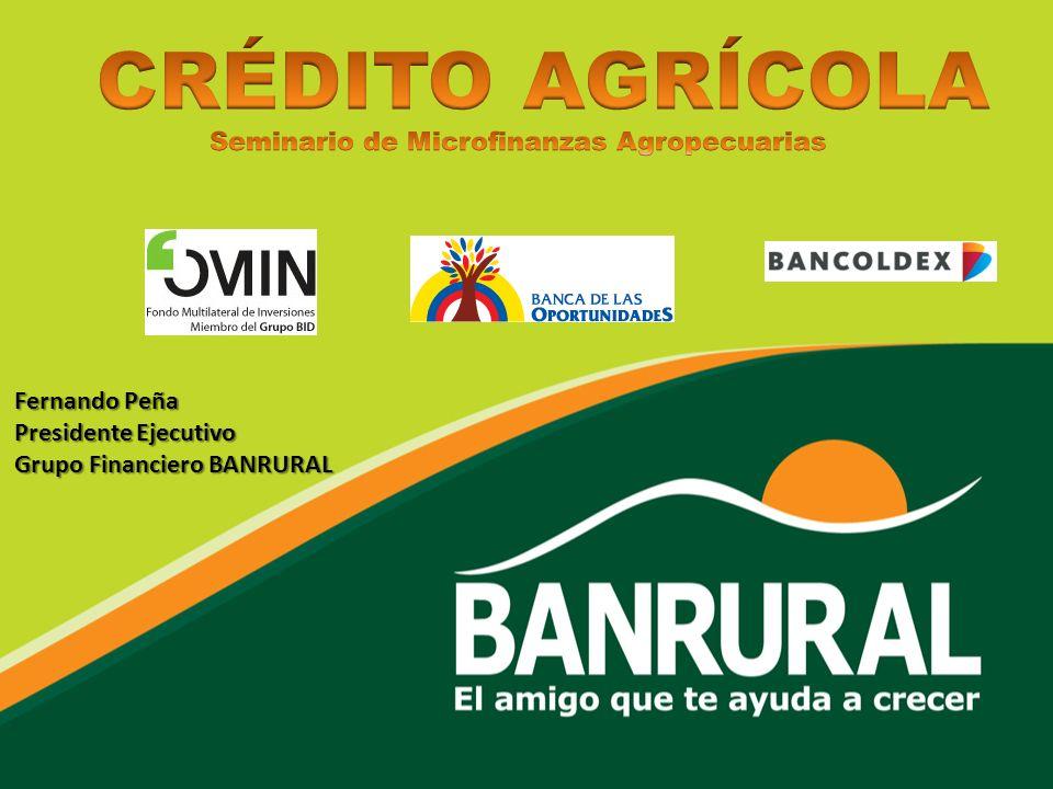 Seminario de Microfinanzas Agropecuarias