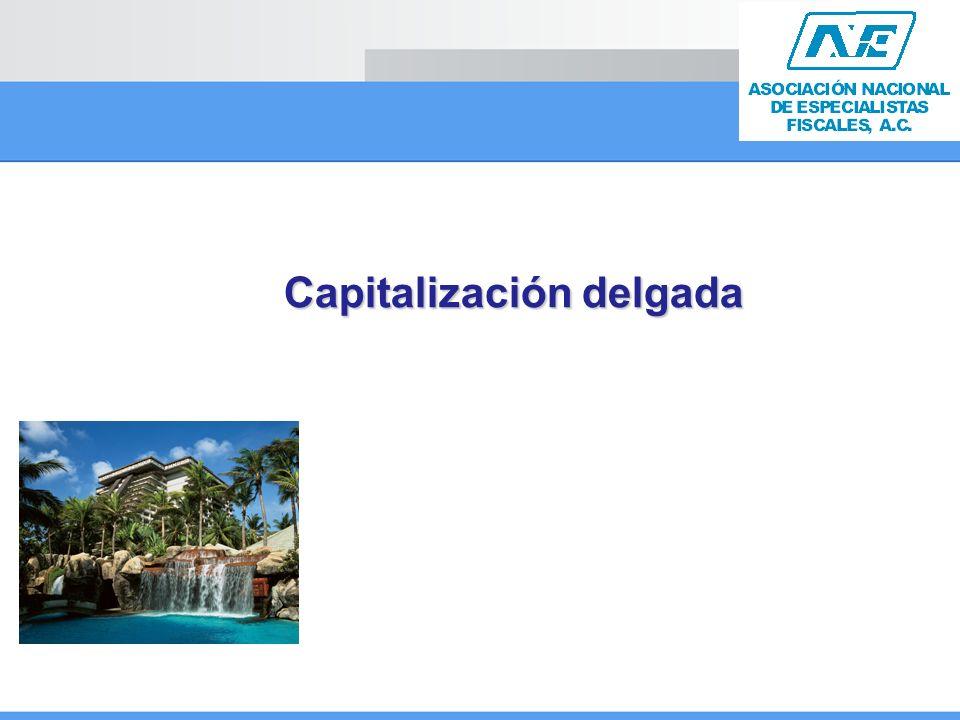 Capitalización delgada