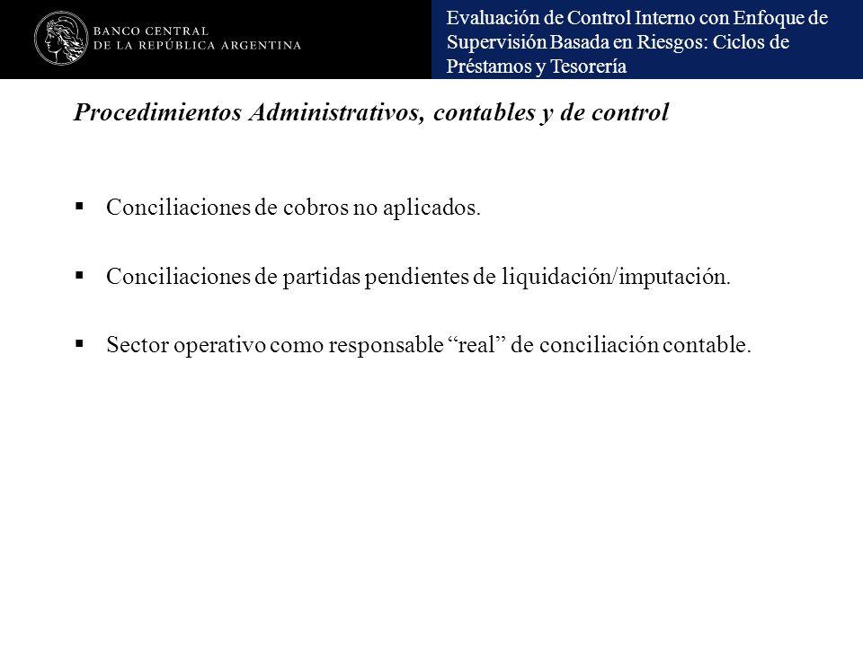 Procedimientos Administrativos, contables y de control