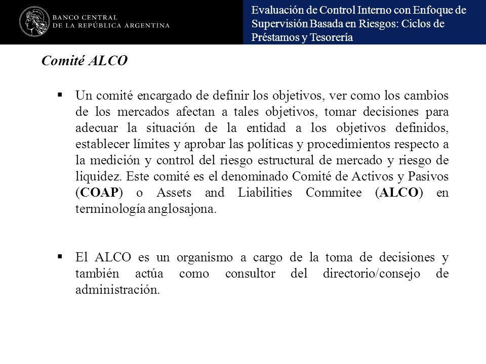 Comité ALCO