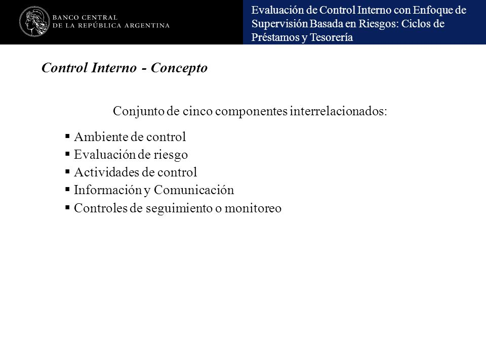 Control Interno - Concepto