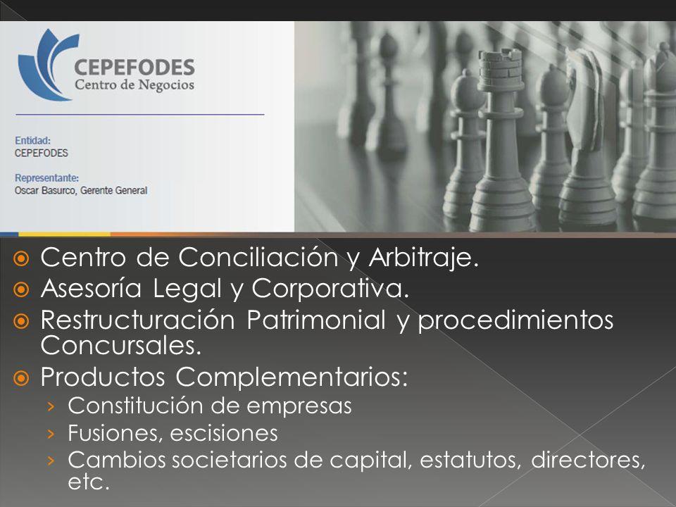 Centro de Conciliación y Arbitraje. Asesoría Legal y Corporativa.