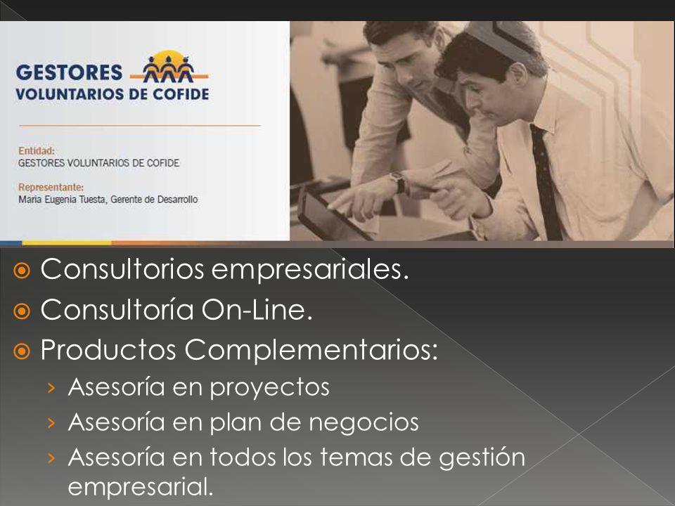 Consultorios empresariales. Consultoría On-Line.