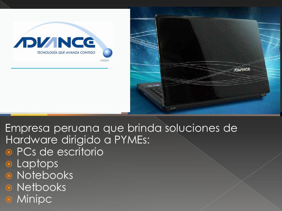 Empresa peruana que brinda soluciones de Hardware dirigido a PYMEs: